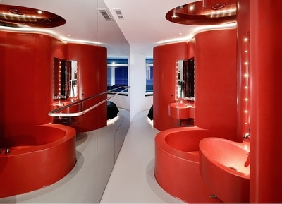 Luxury Room by Ron Arad at Hotel Puerta América, Madrid