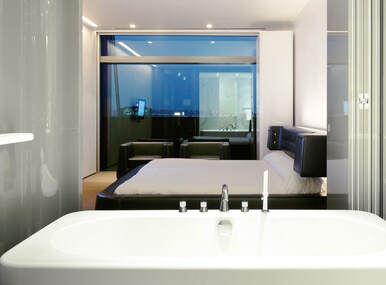 Room at Puerta America Hotel, Madrid