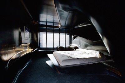 Space Club Room by Zaha Hadid at Hotel Puerta América, Madrid