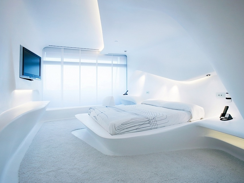 Space Club Room by Zaha Hadid
